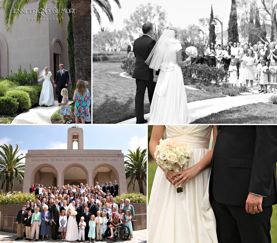 Newport Beach LDS Temple Wedding OC Mart Mix Reception