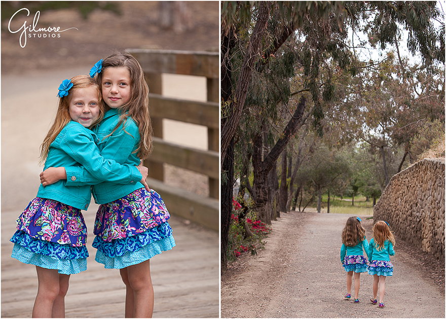 Rustic Outdoors Portrait Photo Session ~ 6 Year Old Twins ...