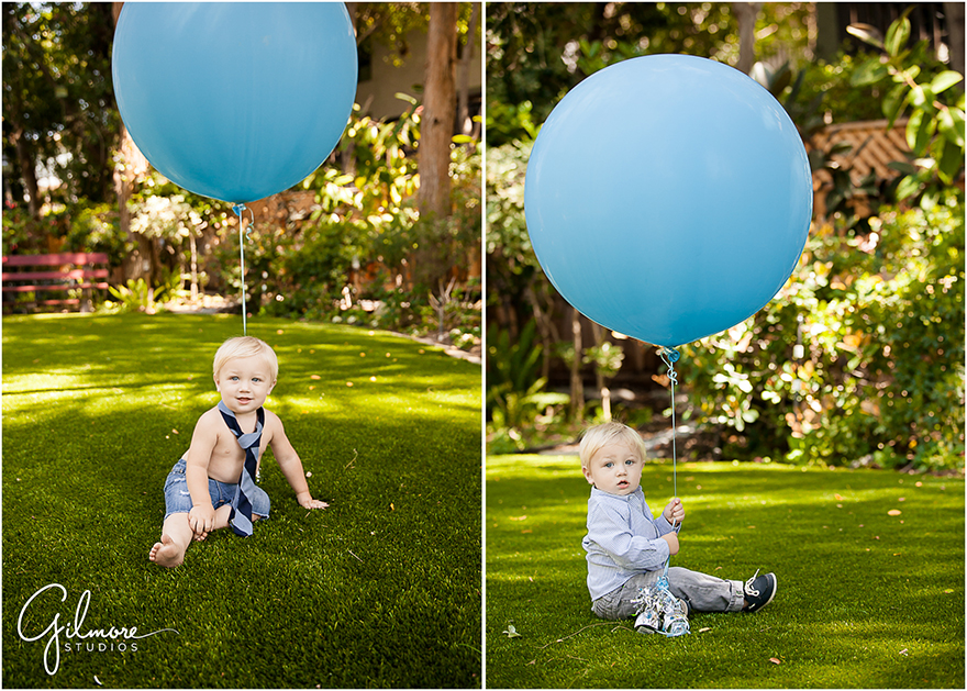 1 Year Old Birthday Cake Smash Studio Garden Newport Beach Baby Photographer 187 Orange County