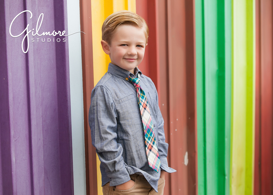 5 Year Old Boy Quot My Favorite Things Quot Portrait Session At