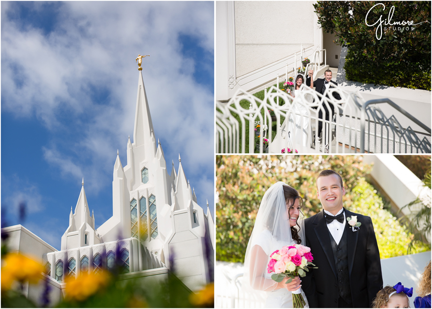 Lds Wedding Dresses San Diego : San diego lds temple wedding gilmore studios photographer