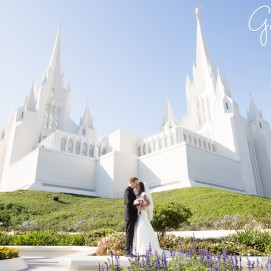 San Diego LDS Temple Wedding Gilmore Studios Photographer