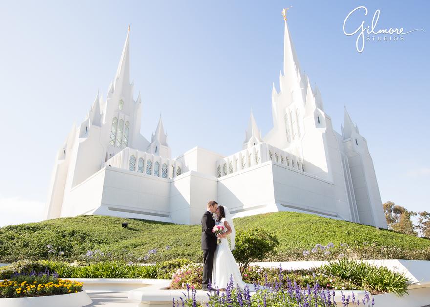 San Diego LDS Temple Wedding – Gilmore Studios Wedding ...
