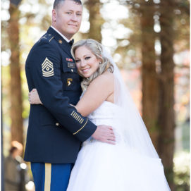 Army wedding at Turnip Rose Promenade in Costa Mesa