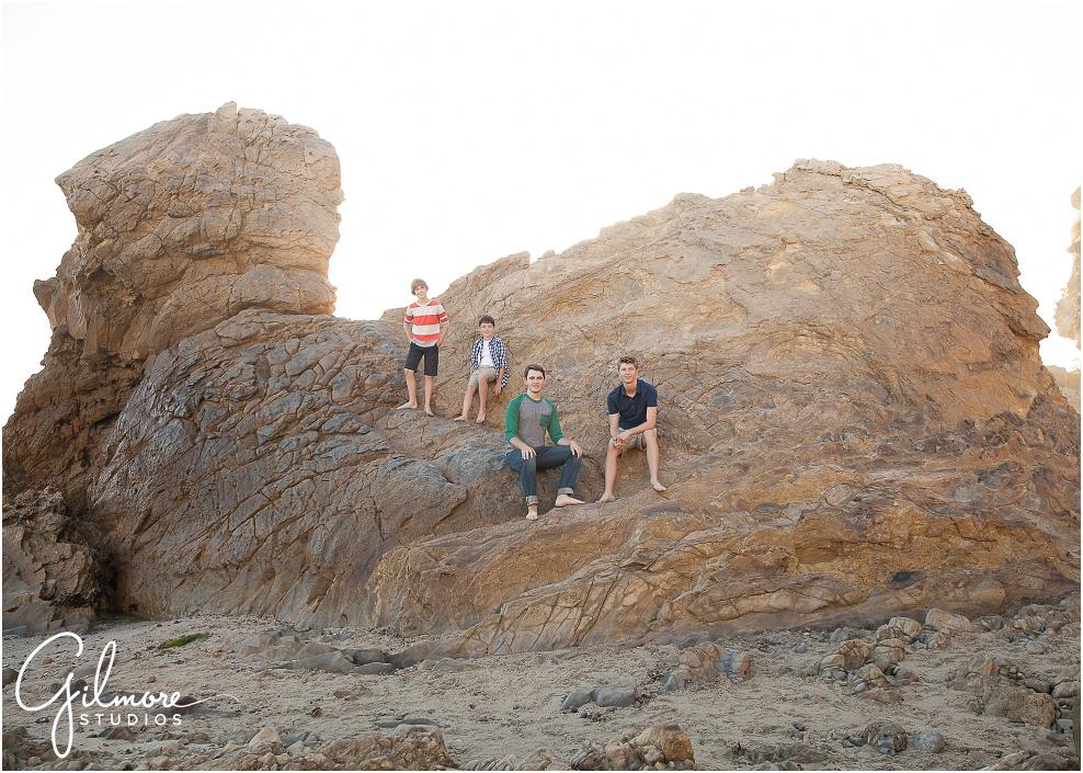 boys portrait photo in Corona Del Mar, CA