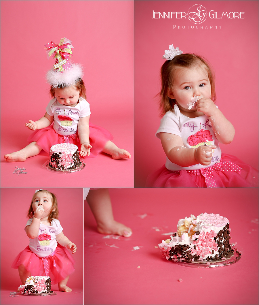 Cake Smash! 1 Year Old Birthday Photography Session