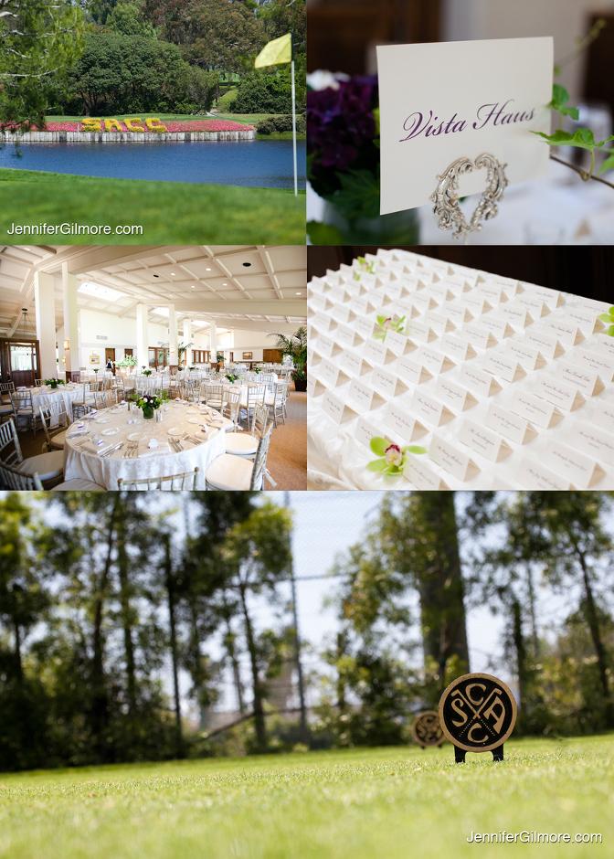 Santa Ana Country Club Wedding Eric Elyse