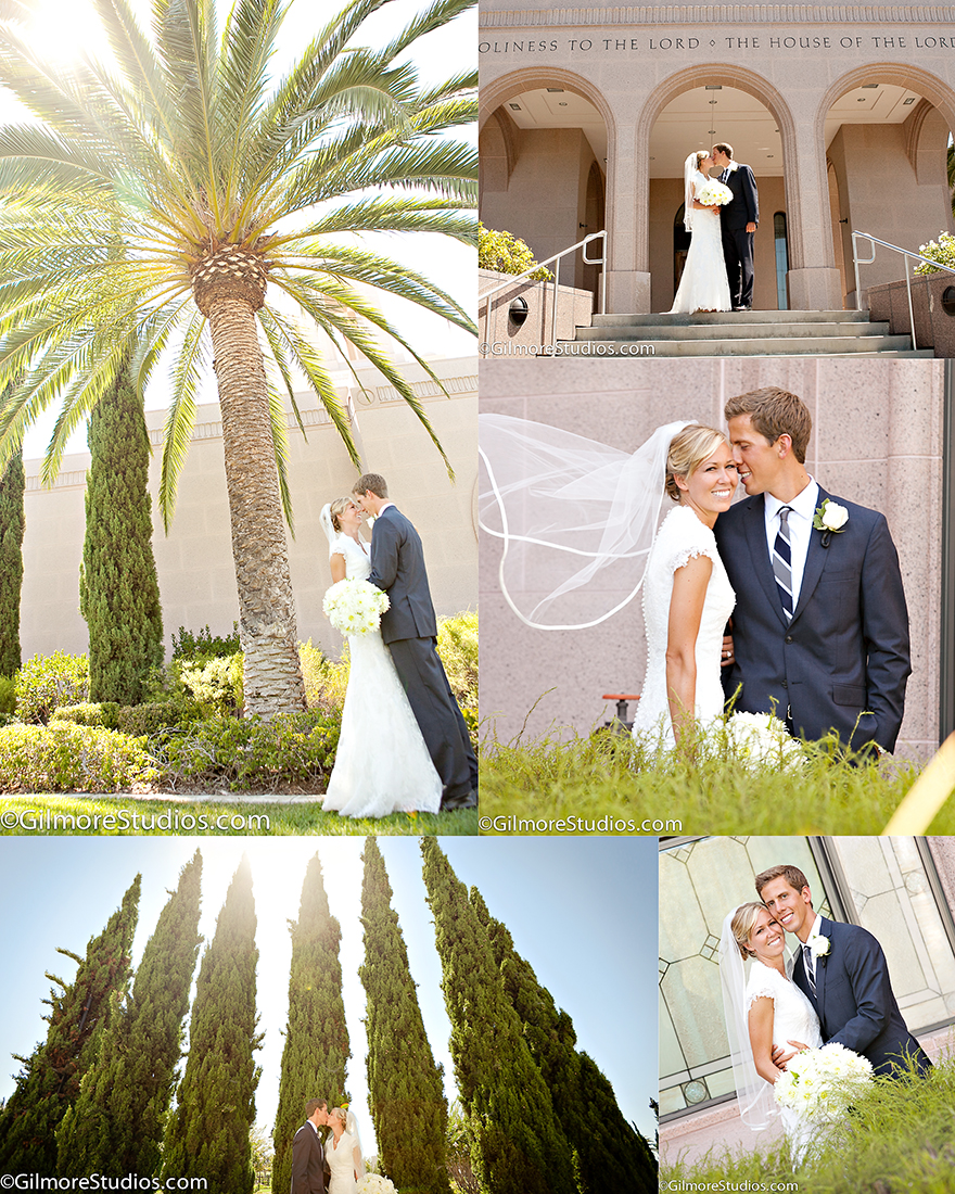Simple Wedding Family Pictures: Newport Beach LDS Temple Wedding