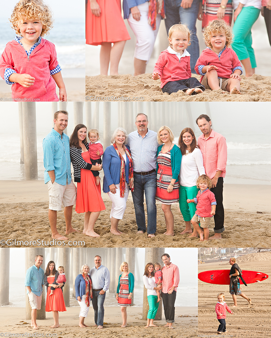Family Pictures In The Beach: Huntington Beach Family Photographer