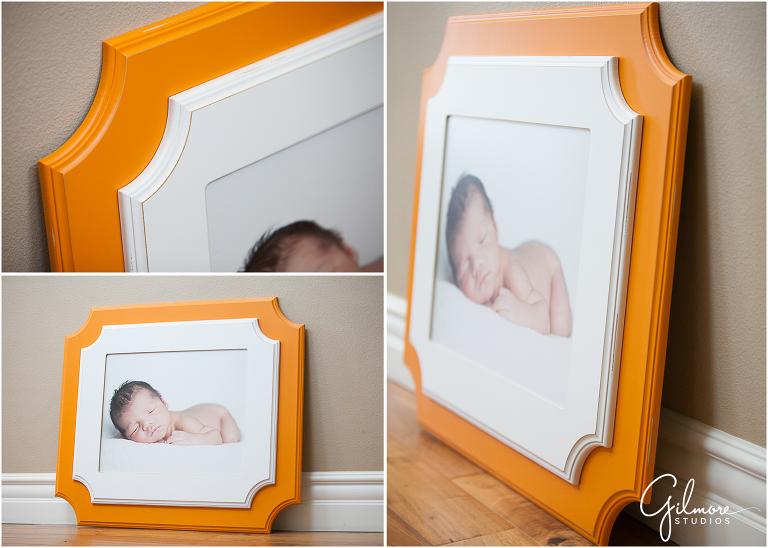 Gilmore Studios Product - Orange & White Organic Bloom Frame ...