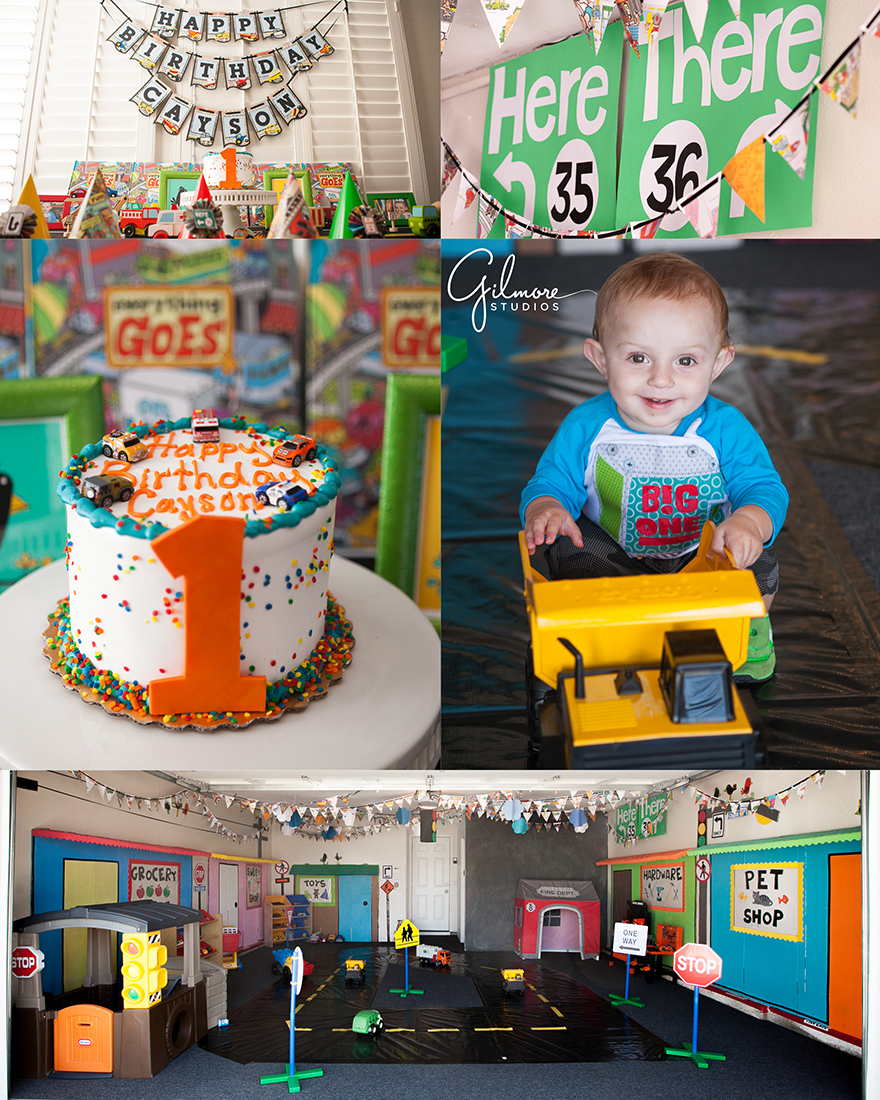 "everything goes"" theme ~ 1 year old birthday party! huntington beach"