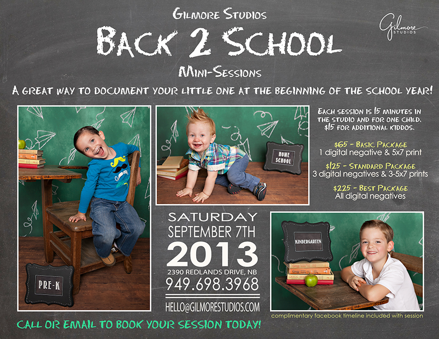 Back To School Mini Sessions Newport Beach Ca Gilmore