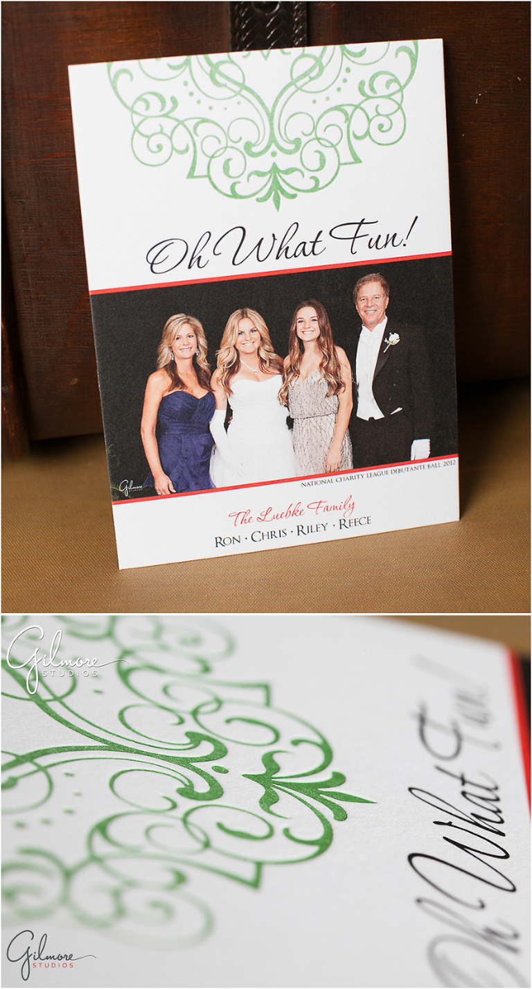 Customized NCL Holiday Press Printed Cards - Gilmore ...