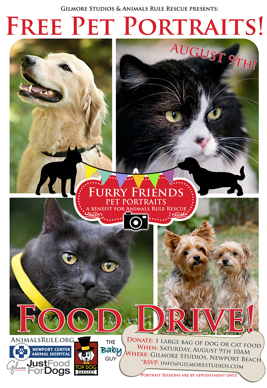 furry friends food drive