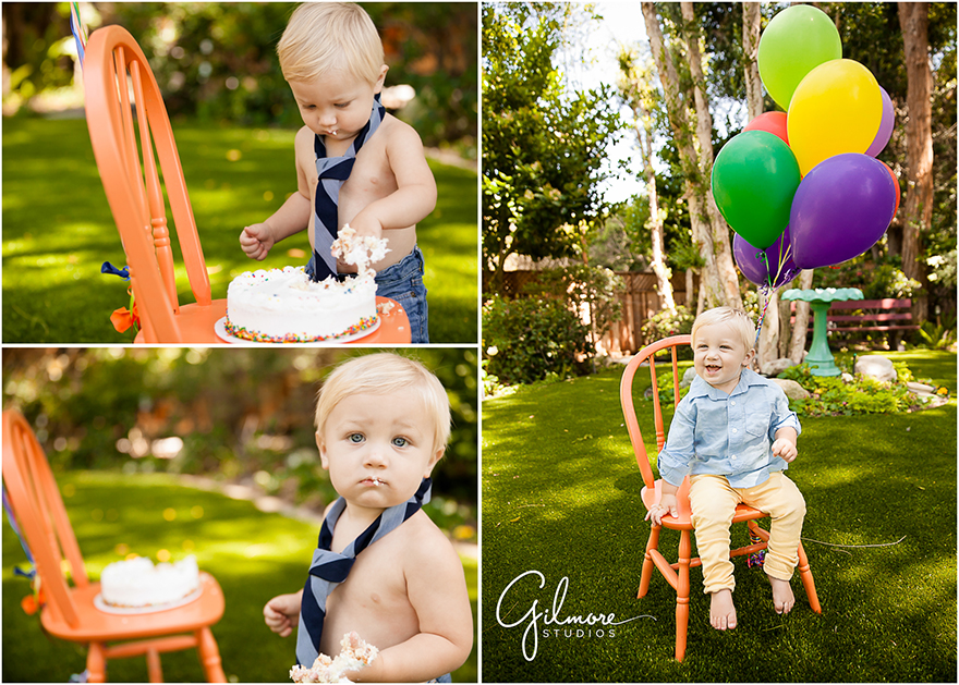 1 Year Old Birthday Cake Smash Studio Garden Newport