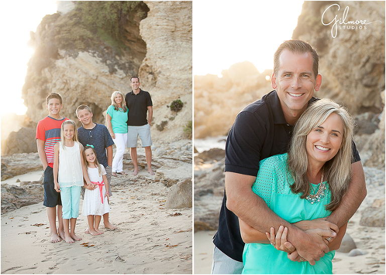 Family Portrait Session At The Beach
