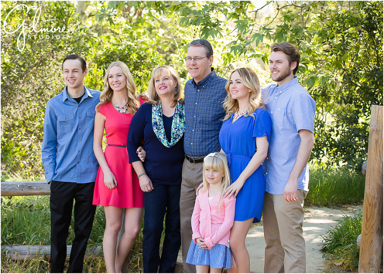 Family Reunion Portrait Session In Yorba Linda Orange