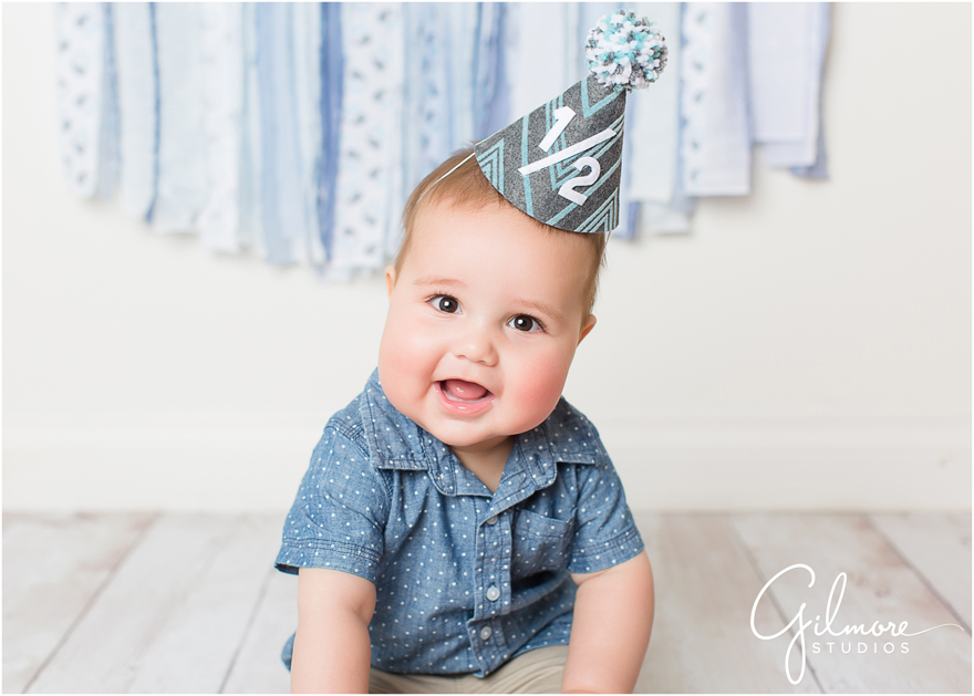 Baby Rolands 6Th Month Session - Newport Beach Baby -7557