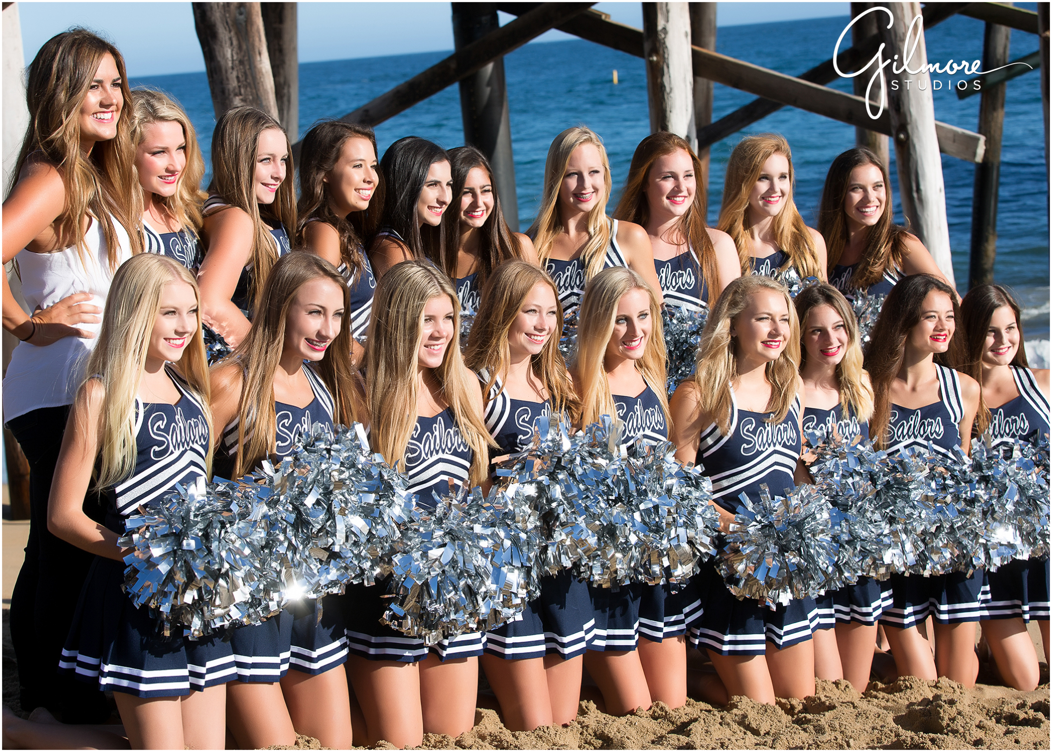High School Cheer Team Newport Harbor High School